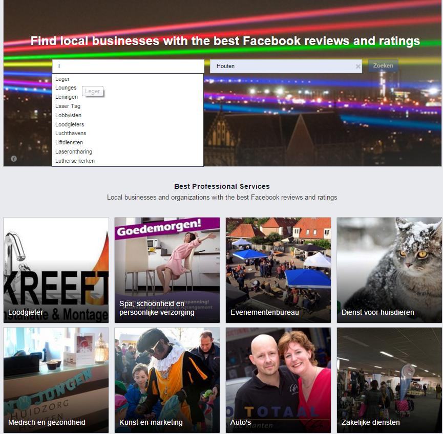 Facebook Professional Services Nederland