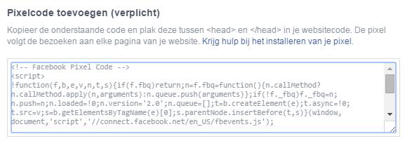 Facebook-pixel code