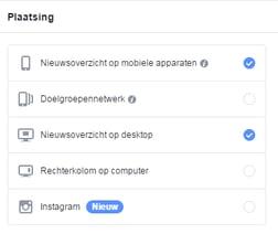 Mobiel vs desktop facebook ads