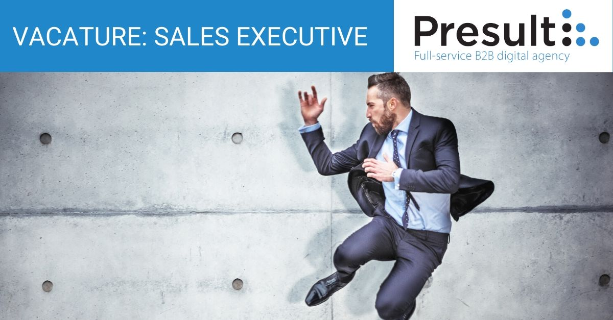 Vacature b2b sales executive