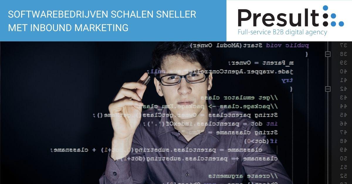 Softwarebedrijven schalen sneller met inbound marketing