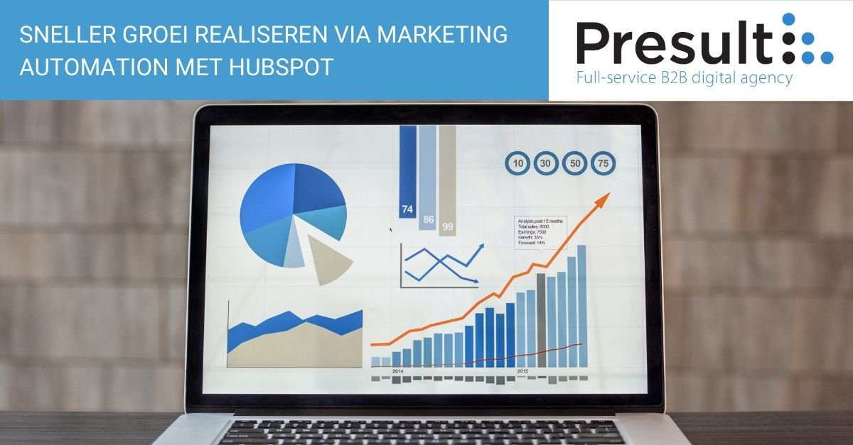 Sneller groei realiseren via marketing automation met HubSpot